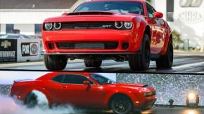 Dodge Challenger SRT Demon: 840 hp, zero a 100 km/h em 2,3 segundos – e banido das pistas de arrancada!