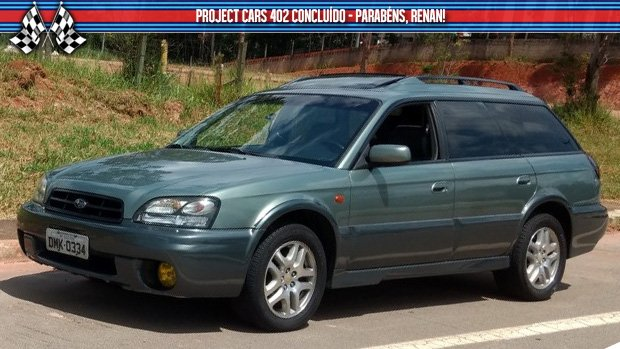 Project Cars #402: meu Subaru Outback está concluído!