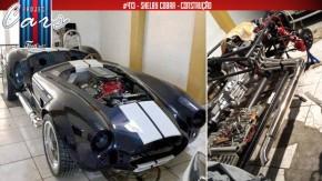 Construindo um Shelby Cobra na garagem: o revestimento do chassi e o novo sistema de escape