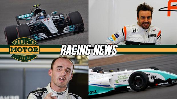 Os testes da F1 no Bahrein, Alonso define treino em Indy, drama na F4 inglesa e mais!