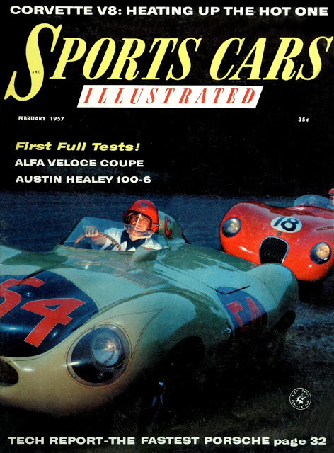 Sports Cars Illustrated Covers of the 1950s 20