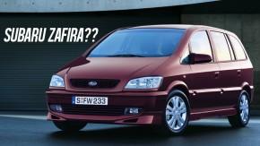 Traviq: quando a Chevrolet Zafira foi transformada em um Subaru