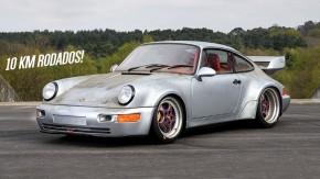 Não parece, mas este Porsche 964 RSR só rodou 10 km – e ainda é um dos mais raros que existem