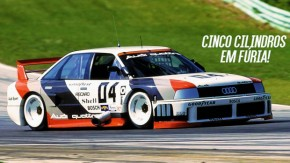 Furious five: o ronco espetacular do Audi 90 IMSA GTO 1989