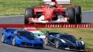 Aumente o volume e curta o ronco das Ferrari icônicas da Fórmula 1 em Mugello