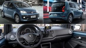 Volkswagen Up! 2018: visual inspirado no europeu, menos versões e mais equipamentos
