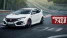 Honda Civic Type R volta a ser o recordista de tração dianteira em Nürburgring – assista!