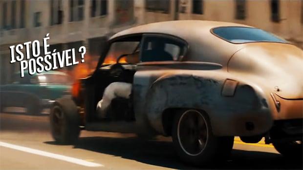 Velozes E Furiosos 8 O Truque Do Turbo De Toretto E Da Corrida Em