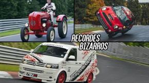 Vans, picapes e tratores: os recordes mais estranhos de Nürburgring