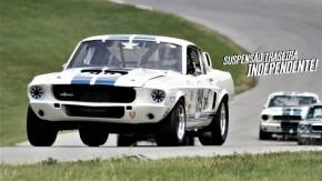 O Shelby GT350 1965 quase foi o primeiro Mustang com suspensão traseira independente