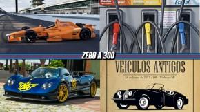 McLaren apresenta carro de Alonso na Indy, combustíveis ficaram mais baratos em abril, Dream Route PZero começa nesta quinta e mais!