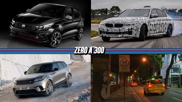 Fiat Argo é revelado oficialmente, BMW explica o sistema de tração integral do novo M5, Range Rover Velar começa a ser vendido no Brasil e mais!