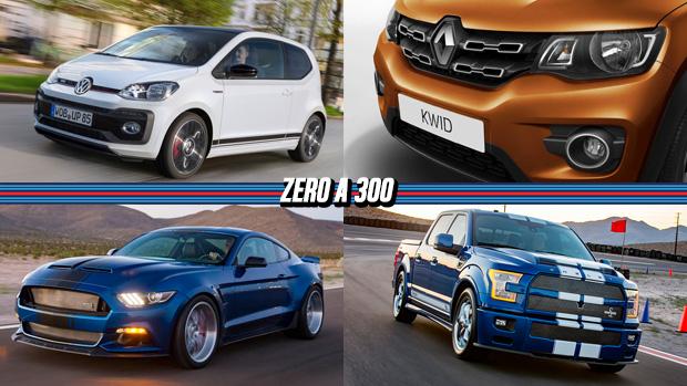 Volkswagen apresenta up! GTI, Renault Kwid em fotos oficiais, Shelby Super Snake 2017 ganha widebody e 760 cv e mais!