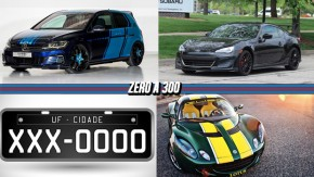 Um Golf de 430 cv para Wörthersee, Denatran começa a combater placaspretas irregulares,Subaru BRZ pode ganhar versão STI e mais!