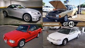 Chevette, SLK55 e C63 AMG, XR3 Conversível, Accord Wagon e mais à venda no GT40!