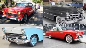 À venda: Thunderbird, Bel Air, Cadillac e outros americanos dos anos 50 – veja no GT40!