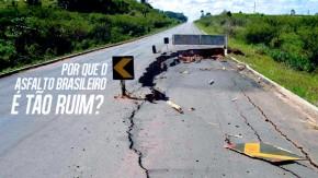Cinco fatores que tornam o asfalto brasileiro tão ruim