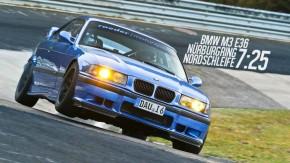 Este é o BMW E36 M3 mais rápido de Nürburgring – e quebrou dois recordes em menos de um mês
