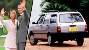 Quando uma perua Fiat derrubou o presidente do Brasil