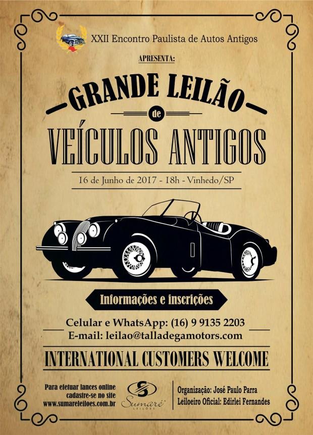 O Grande Leilão de Veículos Antigos