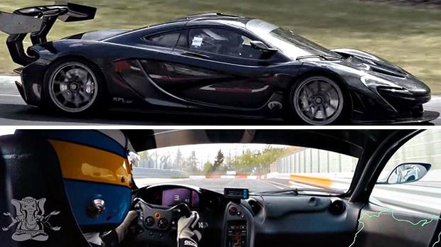 McLaren P1 LM é o novo carro de rua mais rápido em Nürburgring Nordschleife