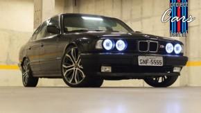 The Best of Project Cars:relembre a história do BMW 525i E34 com motor deM3 E36 e câmbio manual