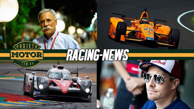 Liberty quer mexer nas cotas da F1, treinos da Indy 500, campeão da MotoGP atropelado, Le Mans e mais!