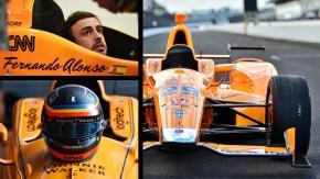 Alonso crava 360 km/h de média em seu primeiro teste na Indy – veja como foi