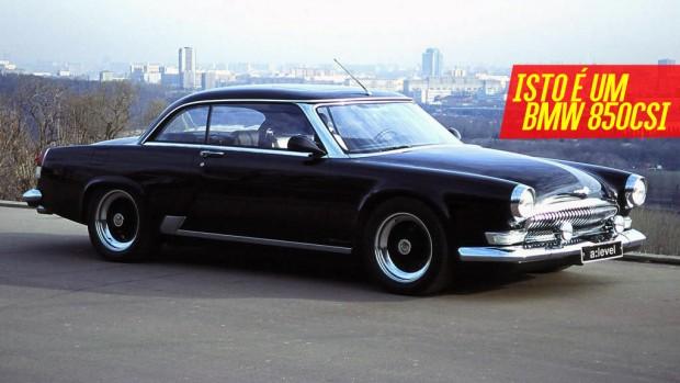 Volga V12 Coupe O Que Acontece Quando Os Russos Colocam