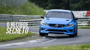 A Volvo quebrou o recorde dos sedãs em Nürburgring… mas não contou para ninguém
