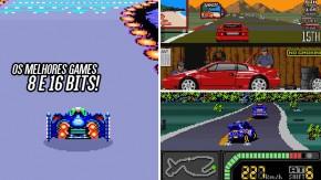 Os games de corrida mais bacanas da era 8 bits e 16 bits – parte 2