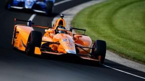 Fernando Alonso larga em 5º na Indy 500, à frente de Tony Kanaan