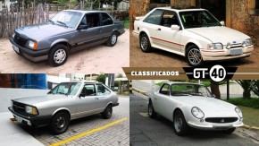 Escort XR3, Passat LS, Monza SL/E, GT Malzoni e mais à venda no GT40!