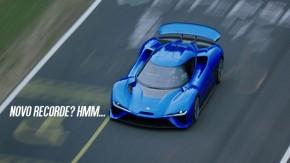 """Precisamos falar sobre o """"recorde"""" do supercarro chinês NIO EP9 em Nürburgring"""
