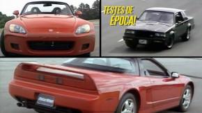 Nostalgia: volte no tempo com estes testes em vídeo de carros dos anos 1980 e 1990
