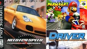 Os games de corrida mais legais da era 32-64 bits – parte final