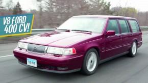Paul Newman criou as peruas Volvo V8 mais legais do mundo