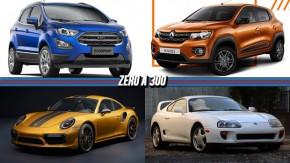 Ford apresenta novo EcoSport para o Brasil, as primeiras imagens do Renault Kwid de produção, Porsche 911 Turbo S ganha edição de 607 cv e mais!
