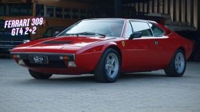 Ferrari Dino 308 GT4: a primeira Ferrari com motor V8 central-traseiro, à venda no Brasil
