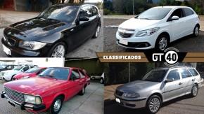 BMW 130i Sport, Parati 2002 com 20.000 km, Corcel 1981 e mais novidades anunciadas no GT40!