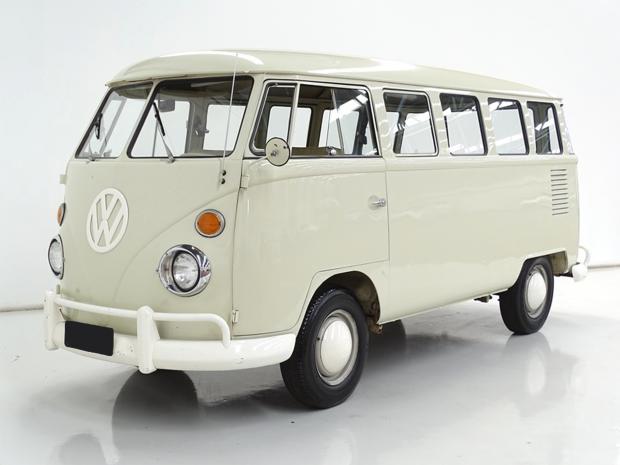 Modelo Kombi, ano 1968 com inacreditáveis 28.000km