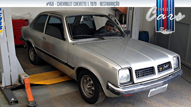 Project Cars #450: a história de um Chevette L 1979 de único dono – e com 86.600 km