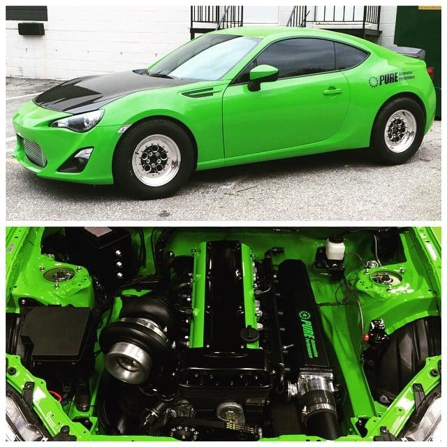 Os melhores engine swaps envolvendo o Toyota 86 / Subaru BRZ - FlatOut!