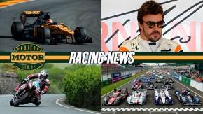 Robert Kubica volta a pilotar um F1, Alonso dá prazo para McLaren, tragédias na Ilha de Man e mais!