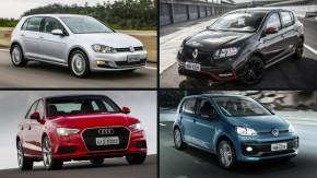 Os cinco carros zero km que eu compraria em 2017