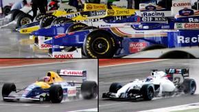 40 anos da Williams: a história contada por seus carros e pilotos em Silverstone