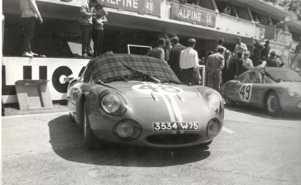 alpine c. heins le mans 1963 - 3