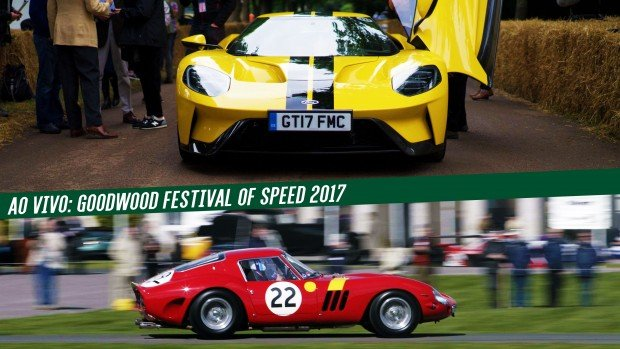 Acompanhe o Goodwood Festival of Speed 2017 ao vivo no FlatOut!