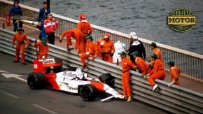 As corridas que Senna não venceu em Mônaco