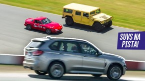 Pesos pesados: quando os SUVs vão para a pista